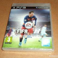 Videojuegos y Consolas: FIFA 16 PARA SONY PS3 , A ESTRENAR , PAL. Lote 184531710