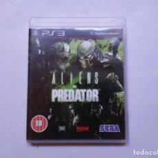 Videojuegos y Consolas: JUEGO ALIENS VS PREDATOR PS3 SEGA 2010 GAME SOFTWARE ENGLISH VERSION EN INGLÉS. Lote 184544793