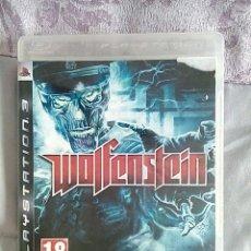 Videojuegos y Consolas: WOLFENSTEIN PS3. Lote 184609305