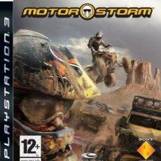 Videojuegos y Consolas: LOTE JUEGO DE PLAY STATION 3 - PS3 - MOTOR STORM - CAJA ORIGINAL Y MANUAL. Lote 185210725