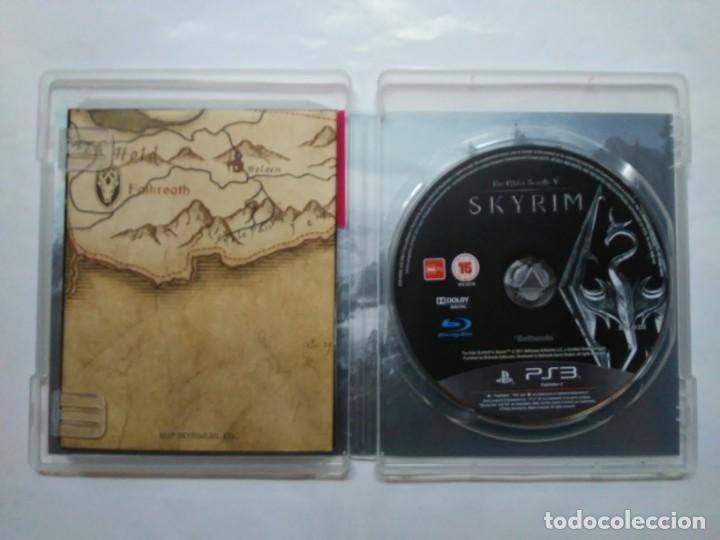 Videojuegos y Consolas: The Elder Scrolls V SKYRIM PS3 PlayStation Network english version en inglés Instrucciones y mapa - Foto 2 - 185702640