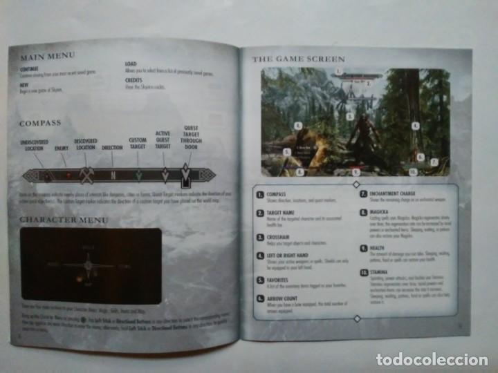 Videojuegos y Consolas: The Elder Scrolls V SKYRIM PS3 PlayStation Network english version en inglés Instrucciones y mapa - Foto 4 - 185702640