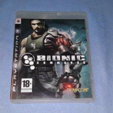 Videojuegos y Consolas: JUEGO BIONIC COMMANDO PARA PLAYSTATION 3 PS3 ORIGINAL EN PERFECTO ESTADO. Lote 185994556