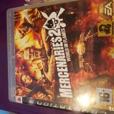 Videojuegos y Consolas: MERCENARIES 2 WORLD IN FLAMES SALE A SUBASTA 1€. Lote 186104693