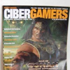 Videojuegos y Consolas: CIBERGAMERS NUMERO 24 CIBER GAMERS. Lote 187155198