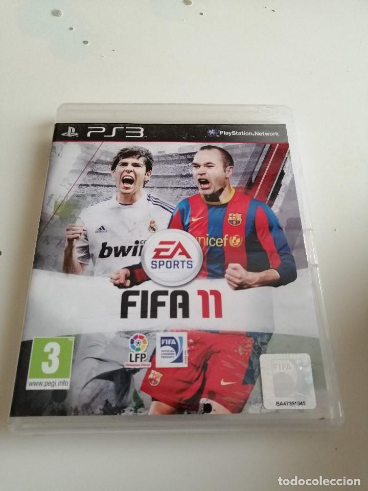 G-HLC45L PLAYSTATION 3 FIFA 11 (Juguetes - Videojuegos y Consolas - Sony - PS3)