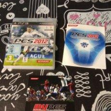 Videojuegos y Consolas: CAJA, CARATULA Y MANUAL DE INSTRUCCIONES PES2012. PRO EVOLUTION SOCCER 2012. PS3. Lote 187191502