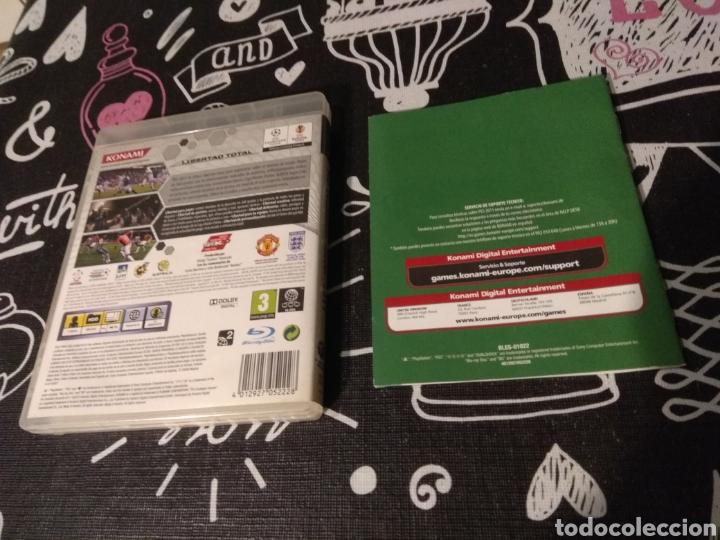 Videojuegos y Consolas: CAJA, CARATULA Y MANUAL DE INSTRUCCIONES Pes2011. Pro evolution soccer 2011. Playstation 3. Ps3 - Foto 2 - 187198372
