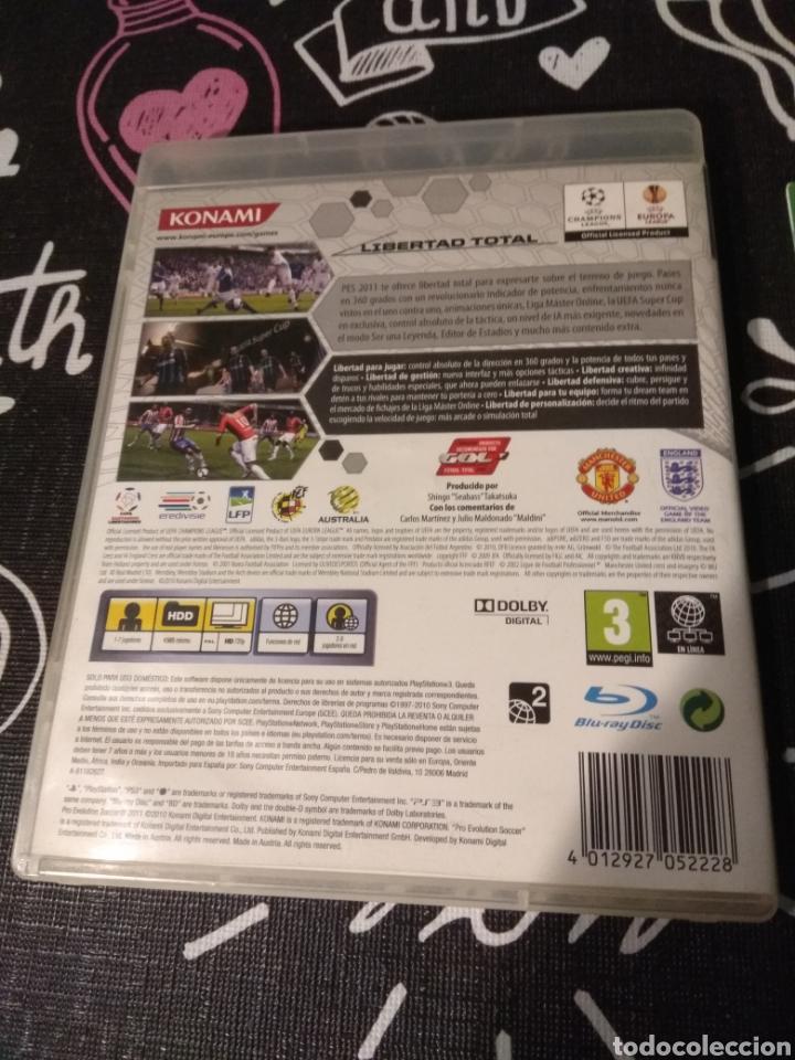 Videojuegos y Consolas: CAJA, CARATULA Y MANUAL DE INSTRUCCIONES Pes2011. Pro evolution soccer 2011. Playstation 3. Ps3 - Foto 3 - 187198372