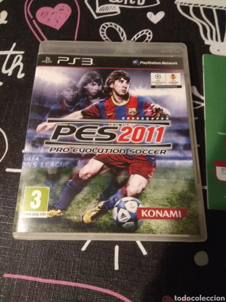 Videojuegos y Consolas: CAJA, CARATULA Y MANUAL DE INSTRUCCIONES Pes2011. Pro evolution soccer 2011. Playstation 3. Ps3 - Foto 4 - 187198372