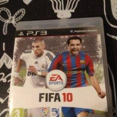 Videojuegos y Consolas: CAJA Y CARATULA FIFA 10. SONY PLAYSTATION 3. PS3. Lote 187213883