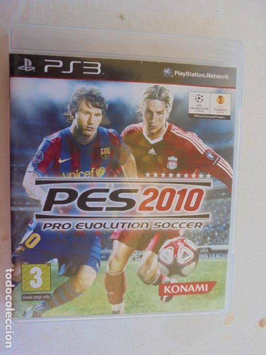 PES 2010 PRO EVOLUTION SOCCER KONAMI PLAYSTATION (Juguetes - Videojuegos y Consolas - Sony - PS3)