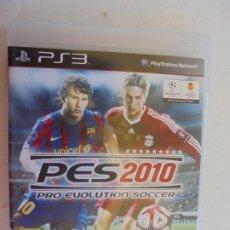 Videojuegos y Consolas: PES 2010 PRO EVOLUTION SOCCER KONAMI PLAYSTATION . Lote 187395996