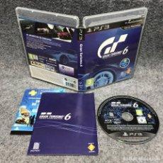 Videojuegos y Consolas: GRAN TURISMO 6 SONY PLAYSTATION 3 PS3. Lote 187441470