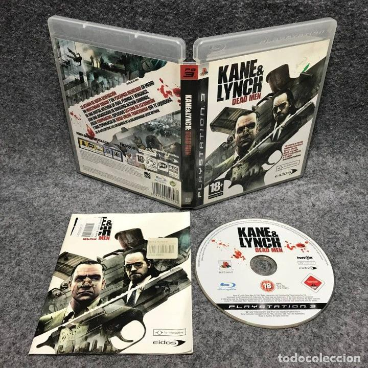 KANE AND LYNCH DEAD MEN SONY PLAYSTATION 3 PS3 (Juguetes - Videojuegos y Consolas - Sony - PS3)