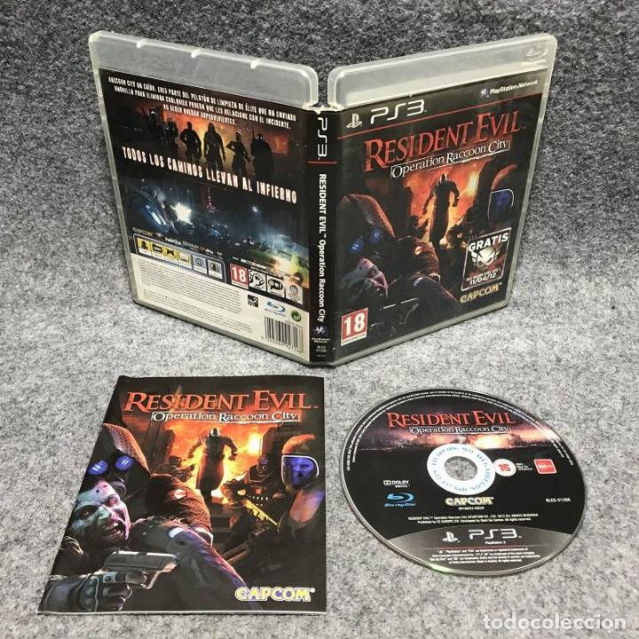 RESIDENT EVIL OPERATION RACCOON CITY SONY PLAYSTATION 3 PS3 (Juguetes - Videojuegos y Consolas - Sony - PS3)
