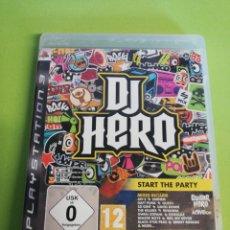 Videojuegos y Consolas: DJ HERO. Lote 188459341
