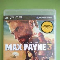 Videojuegos y Consolas: MAX PAYNE 3 PS3. Lote 188476430