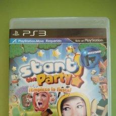 Videojuegos y Consolas: START THE PARTY - EMPIEZA LA FIESTA PS3. Lote 188484776