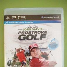 Videojuegos y Consolas: JOHN DALYS PROSTROKE GOLF PS3. Lote 188485018