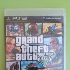 Videojuegos y Consolas: GRAND THEFT AUTO V PS3. Lote 188485322