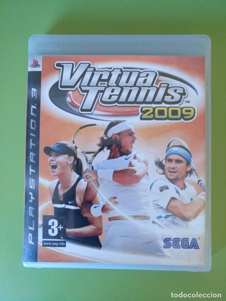 VIRTUA TENNIS 2009 PS3 (Juguetes - Videojuegos y Consolas - Sony - PS3)