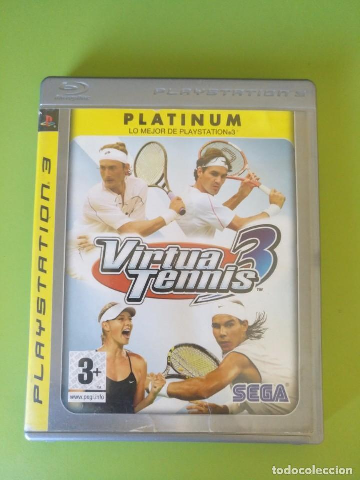 VIRTUA TENNIS 3 PS3 (Juguetes - Videojuegos y Consolas - Sony - PS3)