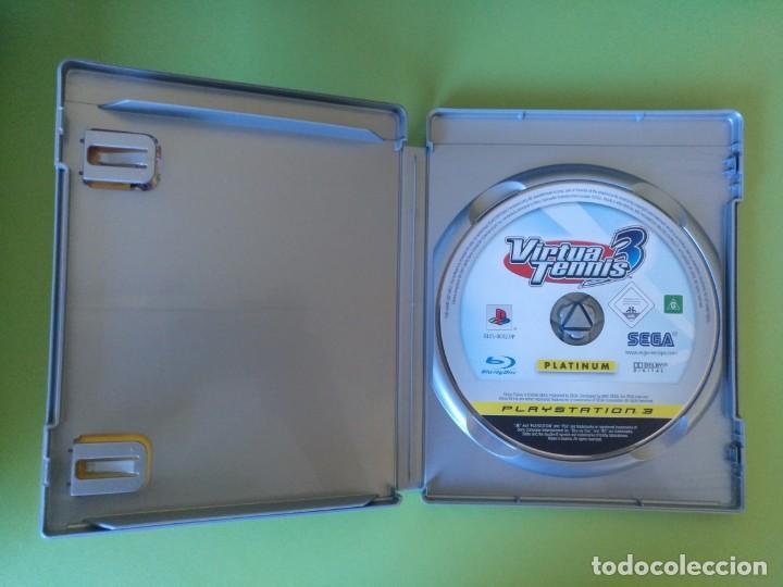 Videojuegos y Consolas: VIRTUA TENNIS 3 PS3 - Foto 2 - 188490761