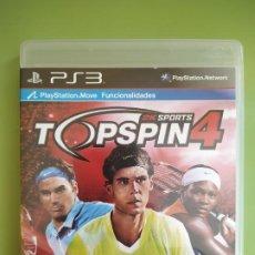 Videojuegos y Consolas: TOP SPIN 4 PS3. Lote 188490868