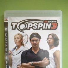 Videojuegos y Consolas: TOP SPIN 3 PS3. Lote 188490911