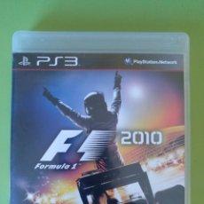 Videojuegos y Consolas: FORMULA 1 2010 PS3. Lote 188491221