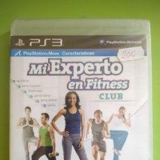 Videojuegos y Consolas: MI EXPERTO EN FITNESS CLUB PS3 PRECINTADO. Lote 188966352