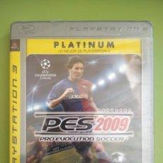 Videojuegos y Consolas: PRO EVOLUTION SOCCER PES 2009 PS3 PRECINTADO. Lote 189031526