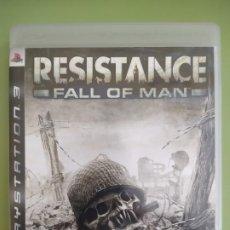 Videojuegos y Consolas: RESISTANCE FALL OF MAN PS3. Lote 189082912