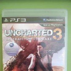 Videojuegos y Consolas: UNCHARTED 3 PS3. Lote 189083043