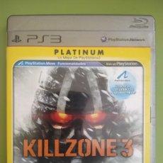 Videojuegos y Consolas: KILLZONE 3 PLATINUM PS3. Lote 189083343