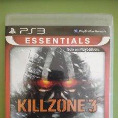 Videojuegos y Consolas: KILLZONE 3 ESSENTIALS PS3. Lote 189083461