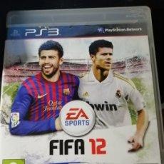 Videojuegos y Consolas: JUEGO FIFA 12 PARA SONY PLAYSTATION ,3. Lote 189096746