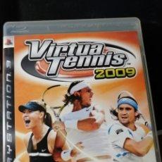 Videojuegos y Consolas: JUEGO VIRTUA TENNIS 2009 PARA SONY PLAYSTATION 3. Lote 189096860
