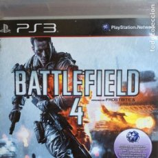 Videojuegos y Consolas: BATTLEFIELD 4 FOR PS3 PLAYSTATION. Lote 189946586