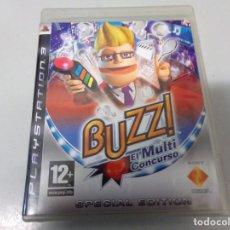 Videojuegos y Consolas: JUEGO PS3 BUZZ. Lote 190513231