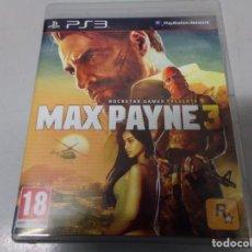Videojuegos y Consolas: JUEGO PS3 MAX PAYNE 3. Lote 190513920