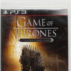 Videojuegos y Consolas: PS3 GAME OF THRONES (A TELLTALE GAMES SERIES) EDICION ESPAÑOLA. Lote 190634565