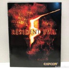 Videojuegos y Consolas: MANUAL RESIDENT EVIL 5 PLAYSTATION 3 PS3. Lote 190697105