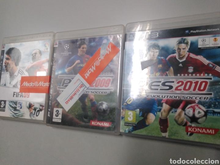 Videojuegos y Consolas: Lote de 3 juegos Ps3 FIFA PES - Foto 2 - 190881320