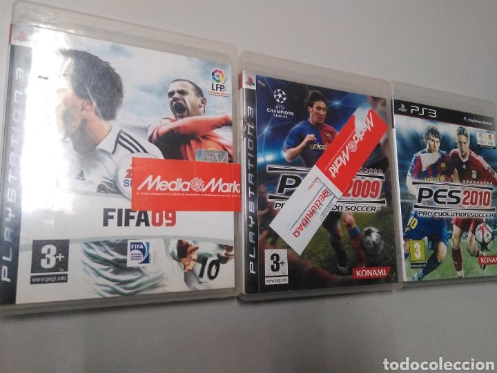 LOTE DE 3 JUEGOS PS3 FIFA PES (Juguetes - Videojuegos y Consolas - Sony - PS3)