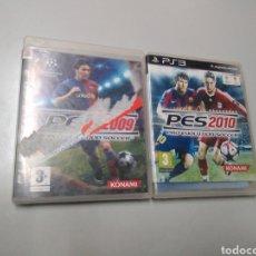 Videojuegos y Consolas: LOTE DE 2 JUEGOS PS3 PES 2009 Y 2010. Lote 190881975