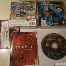 Videojuegos y Consolas: UNCHARTED 2 PS3 PLAYSTATION 3 PAL-ESPAÑA. Lote 190990851