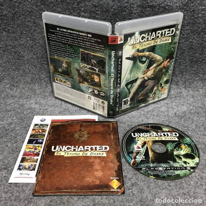 UNCHARTED EL TESORO DE DRAKE SONY PLAYSTATION 3 (Juguetes - Videojuegos y Consolas - Sony - PS3)