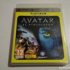 Videojuegos y Consolas: JUEGO AVATAR PS3 PLATINUM JAMES CAMERON MUY BUEN ESTADO. Lote 191201810